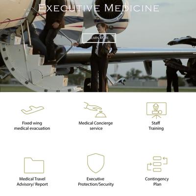 Exclusive Medical Concierge Service Web Icons