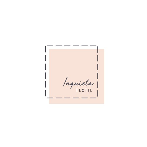 Simple brand with the title 'Inquieta Textil'