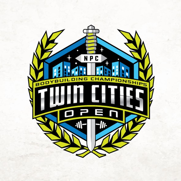 Winner logo with the title 'Twin Cities Championships'