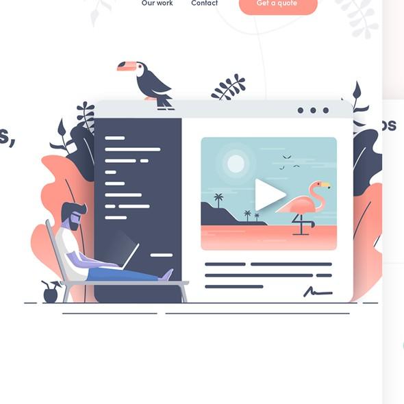 Development website with the title 'Kokkos website '