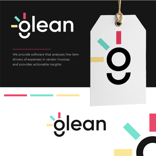 Software brand with the title 'glean'