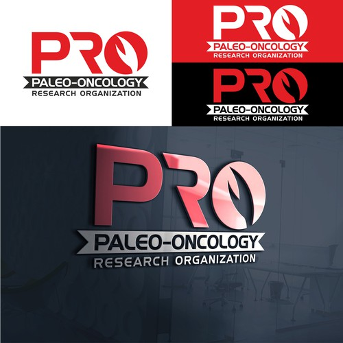 Organization logo with the title 'Paleo-oncology Research Organization'
