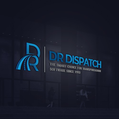 Highway design with the title 'Dr. Dispatch '