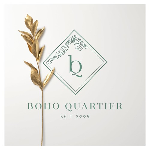 Event logo with the title 'Viennese Jugendstil touch for Boho Quartier'
