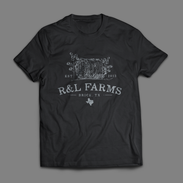Texas design with the title 'R&L Farms'