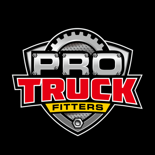Wheel design with the title 'Pro Truck logo design'