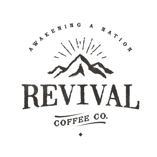 Coffee brand logo with the title 'Create a Revival Based vintage logo for a Coffee Roaster'