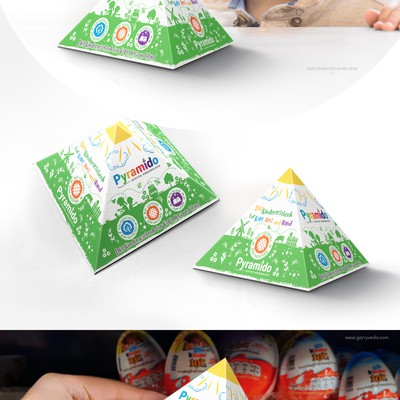 Eco-toy for children, packaging design