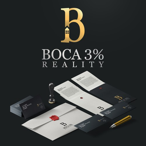 Reality design with the title 'BOCA 3% REALITY'