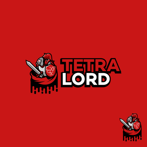 Courage logo with the title 'Tetra Lord'