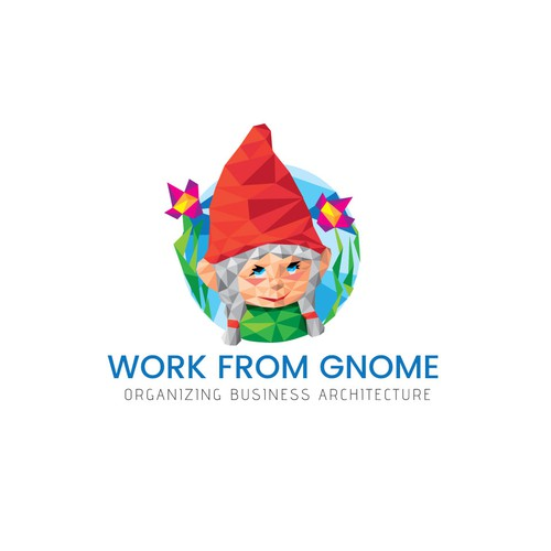Organizer design with the title 'Work From Gnome'
