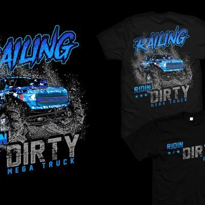 dirty mega truck