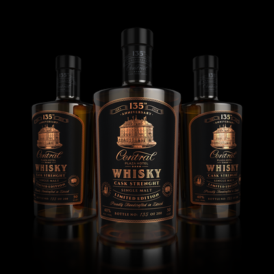 Central Whisky Cask Strengh Limited Edition