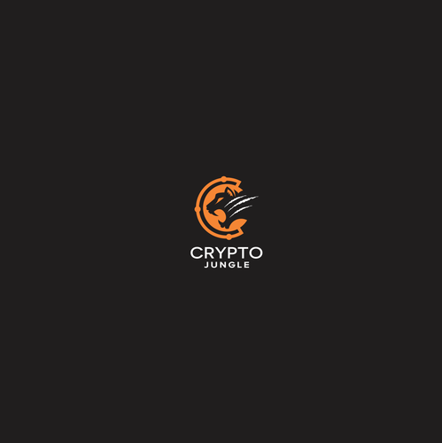 Roaring logo with the title 'crypto jungle'
