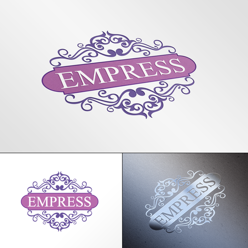 Princess logo with the title 'Elegant logo concept for a womans fashion business'