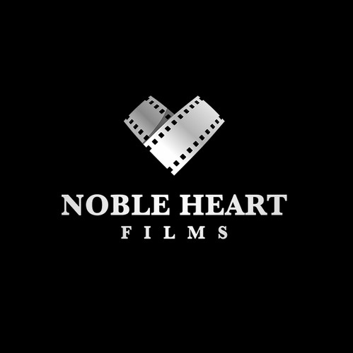 Film production logo with the title 'FilmHeart: Strong and Memorable'
