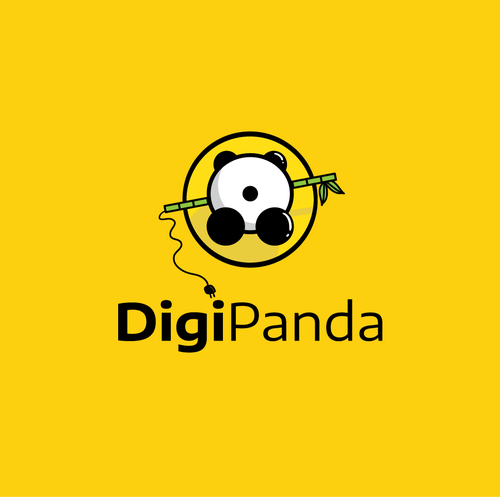 Positivity logo with the title 'Digi Panda'