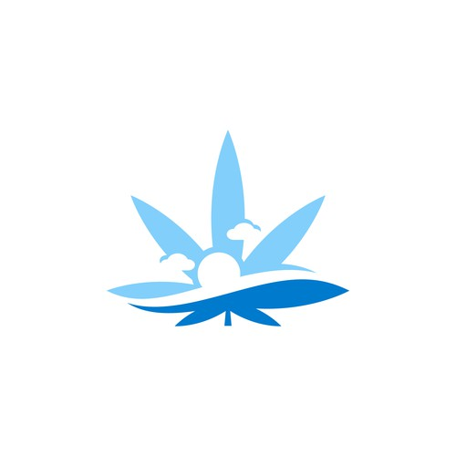 Oil logo with the title 'Cannabis Ocean'