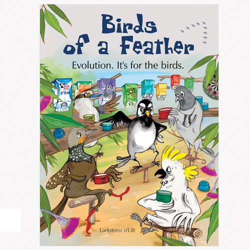 Comic book cover with the title 'Birds of a Feather'