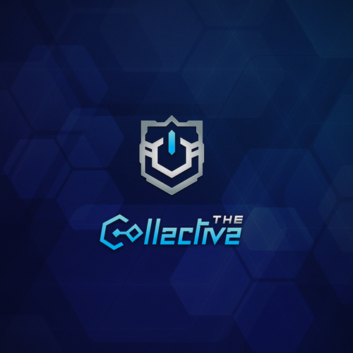 Mechanical design with the title 'The Collective Community Logo'