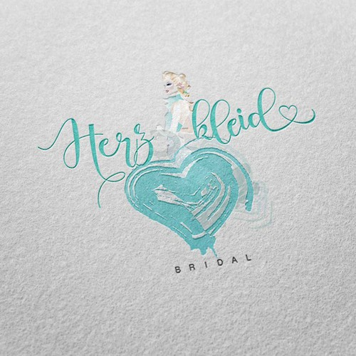 Fashion brand with the title 'Logo for Wedding Gowns'