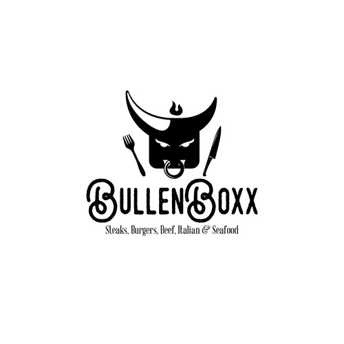 Beef logo with the title 'BullenBoxx'