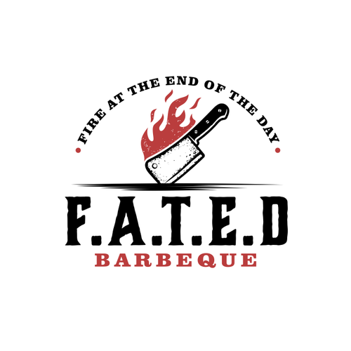 Grill design with the title 'FATED'