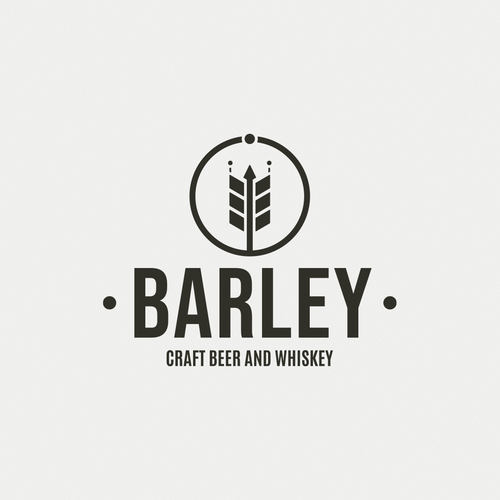 Barley logo with the title 'Barley - Craft Beer and Whiskey Bar'
