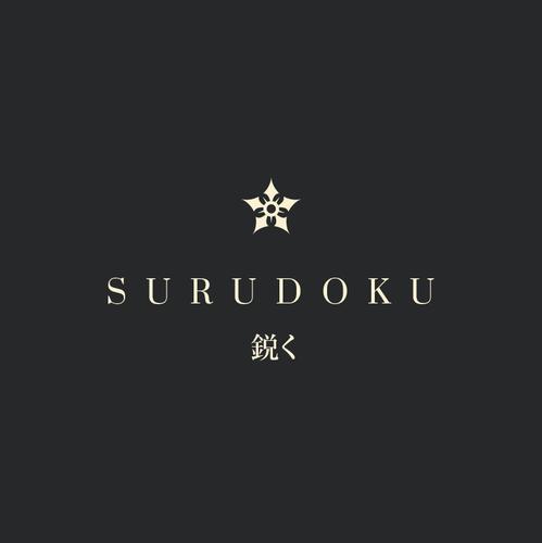 Culinary design with the title 'S U R U D O K U'