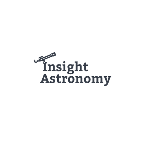 Astronomy logo with the title 'Insight Astronomy'