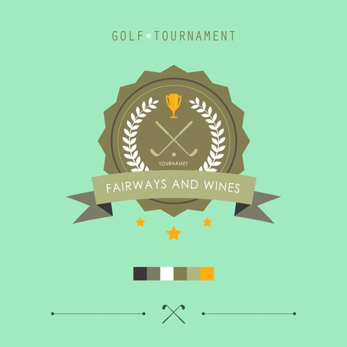 Award logo with the title 'Fairways&wines.'