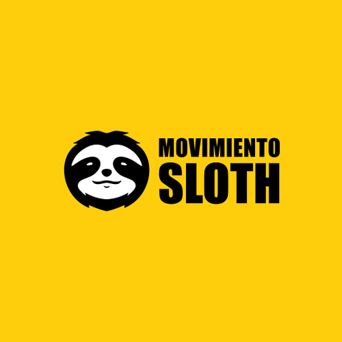 Sloth logo with the title 'Sloth Logo.'