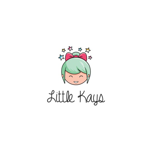 Baby brand with the title 'Playful logo for Little Kays'
