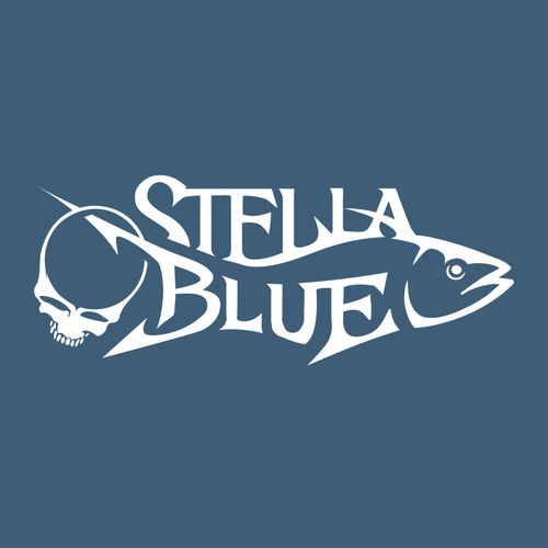 Bait logo with the title 'Stella Blue'