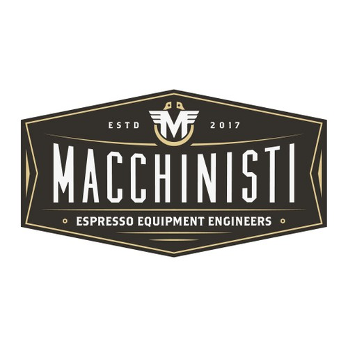 Equipment design with the title 'Macchinisti'
