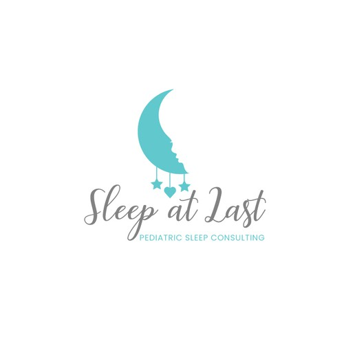 Baby logo with the title 'Logo for sleep consulting '