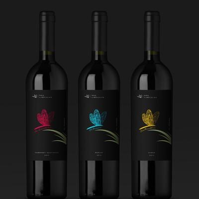 Son Libélulas Wine label