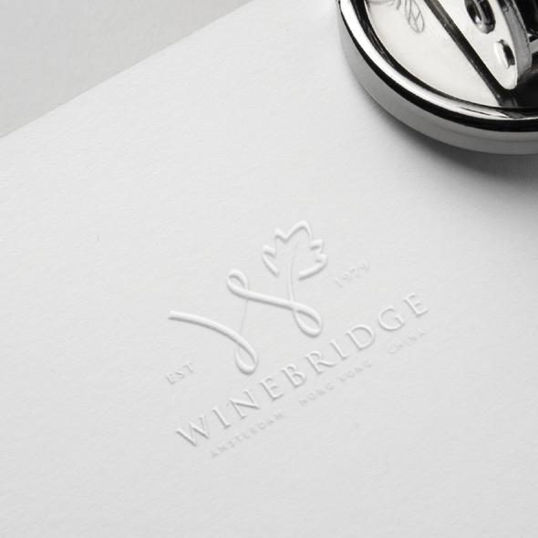 Bridge logo with the title 'WineBridge'
