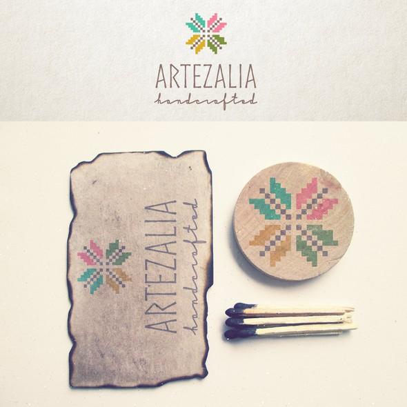 Artistic brand with the title 'Artezalia'