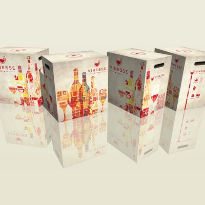 VINESSE shipping wine box
