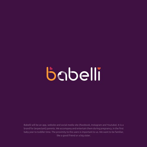 Ultrasound logo with the title 'Babelli'