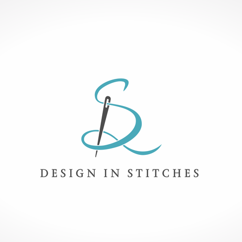 Sewing design with the title 'Design in stitches'