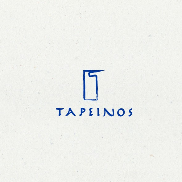 Ancient Greece design with the title 'simple logo for publishing enterprise'