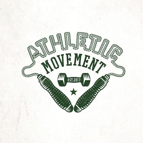 Athletic logo with the title 'Athletic Movement '