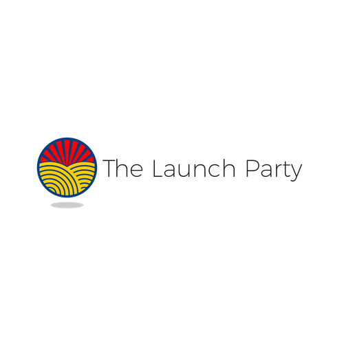Basic logo with the title 'The Launch Party Logo'