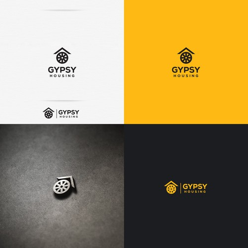House brand with the title 'Logo Design for Gypsy Housing'