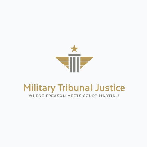 Pillar design with the title 'Justice Medal'