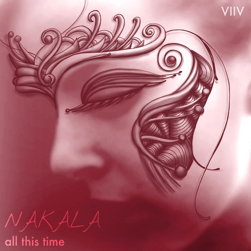 Decorative illustration with the title 'Contest 2 for Album Artwork for new artist 'Nakala'.'