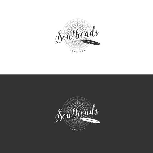 Mandala design with the title 'Soulbeads Logo'