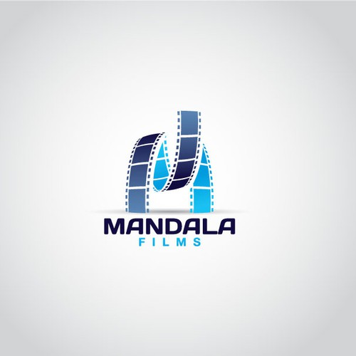Film reel logo with the title 'Mandala Films'